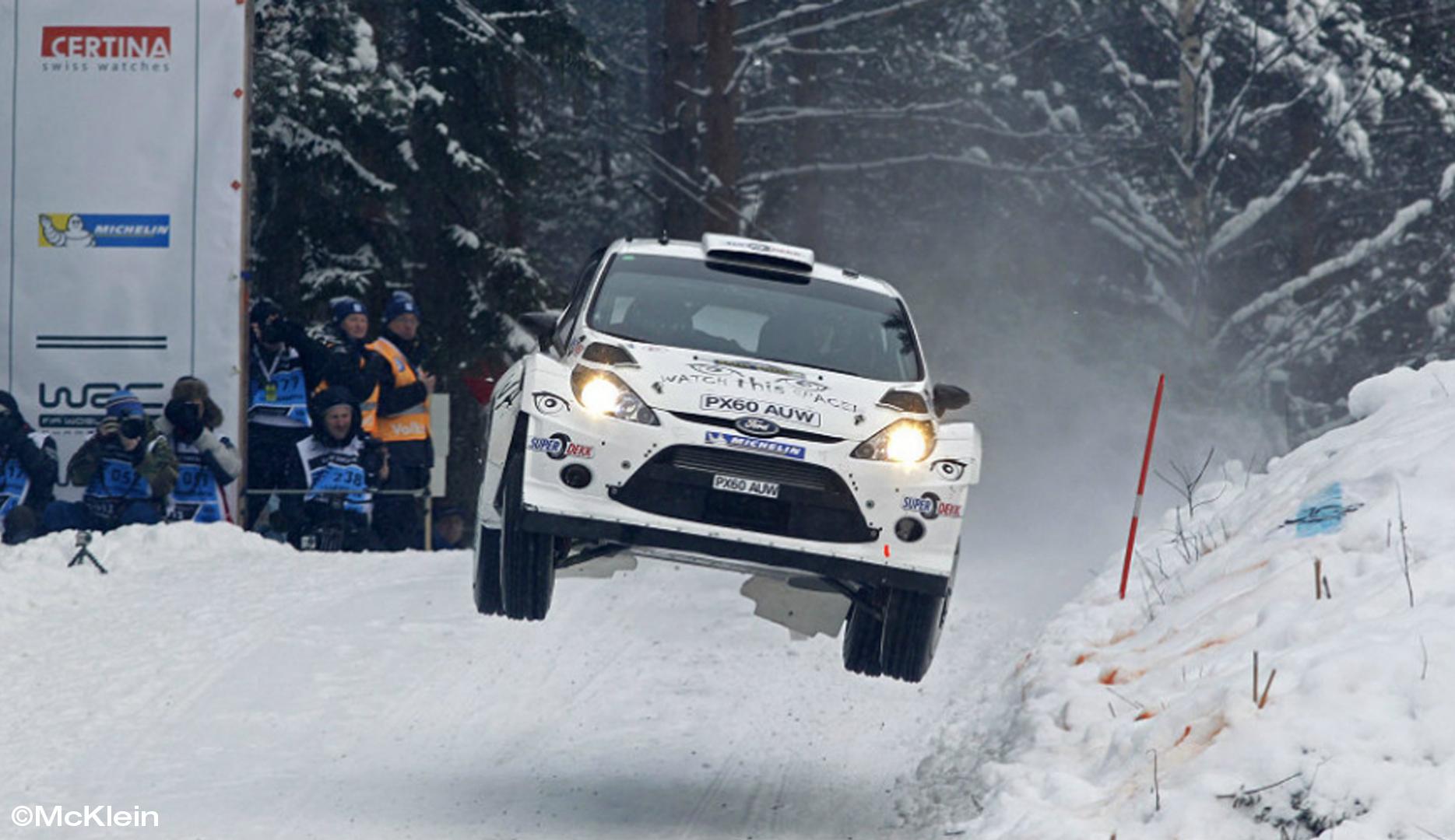 Rajd Szwecji: Kubica 12. po drugim OS-ie...