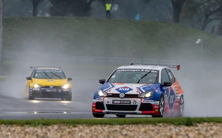 Przedsezonowe testy Volkswagen Golf Cup