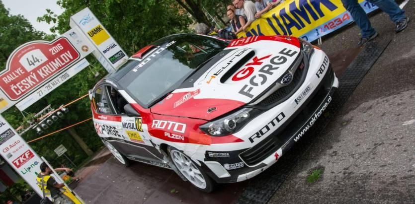 PRZEDWCZESNE ZAKOŃCZENIE STARTU GK Forge Rally Team W RAJDZIE KRUMLOV