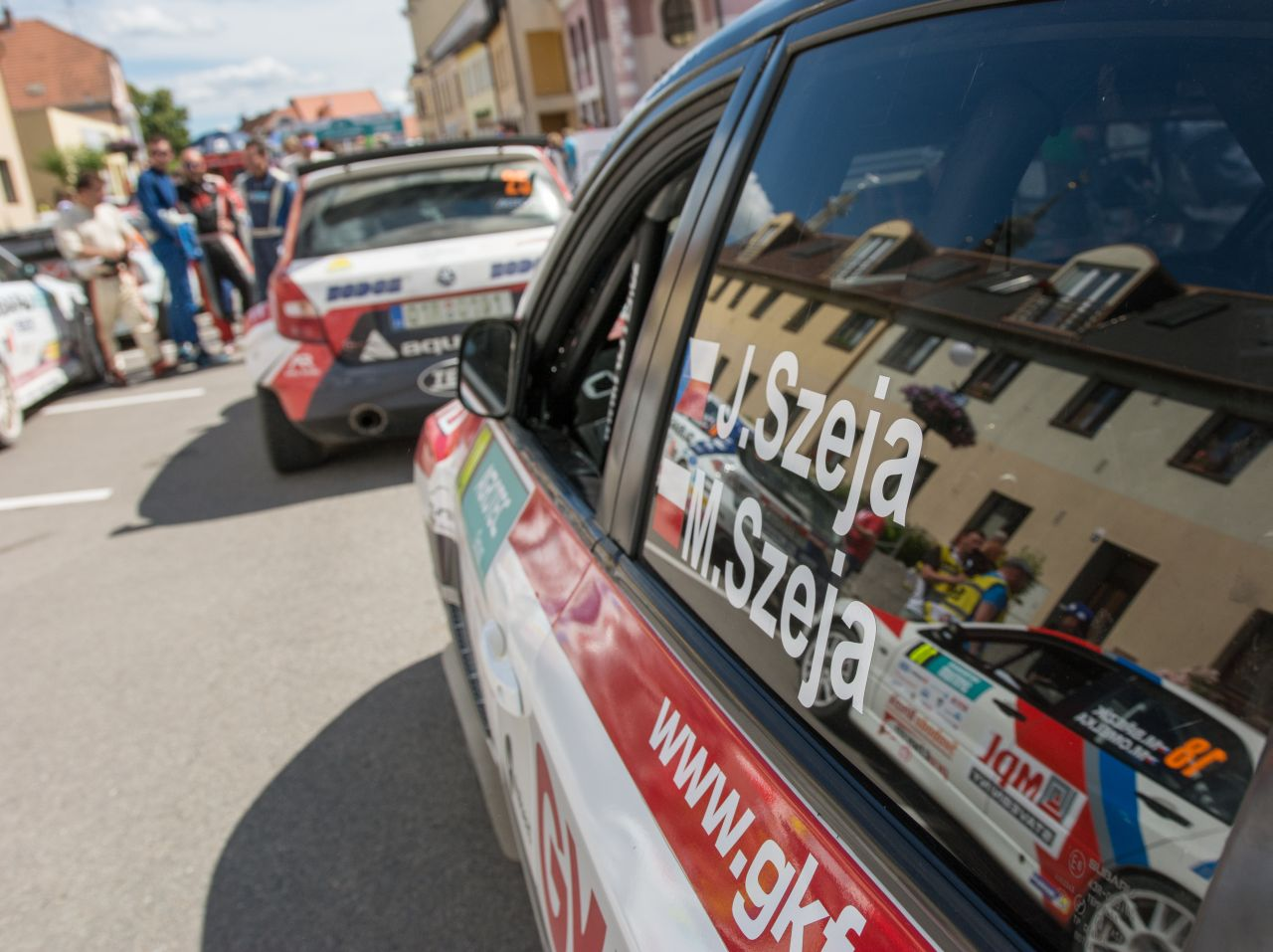 GK FORGE RALLY TEAM PRZED 43. RALLY BOHEMIA