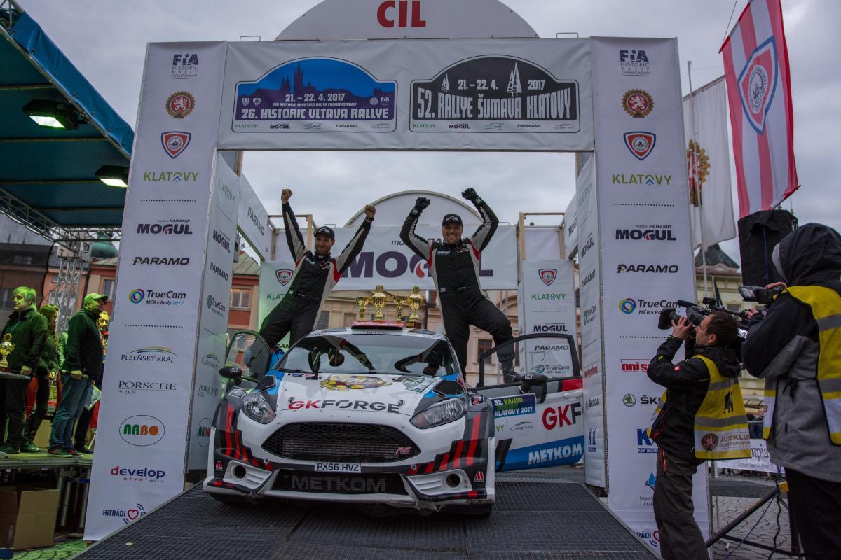 Czwarte miejsce w klasyfikacji generalnej - kolejny mocny wynik braci Szejów w Rajdzie Sumava Klatovy