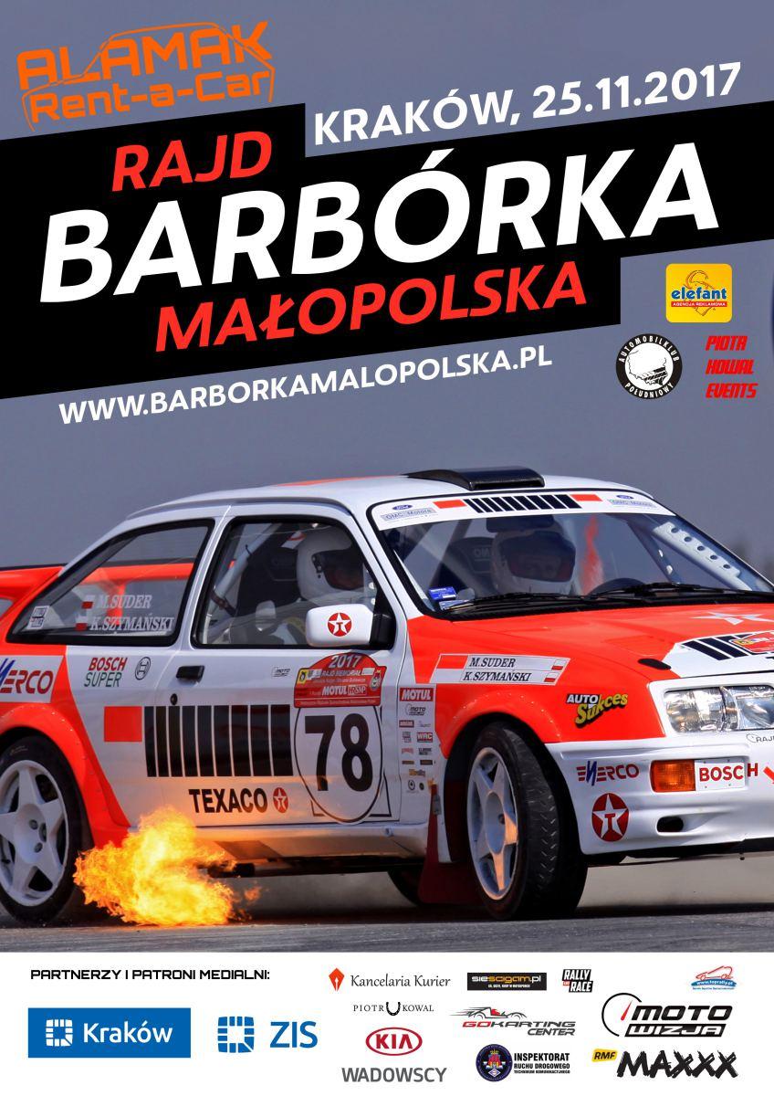 Rajd Alamak Barbórka Małopolska 2017