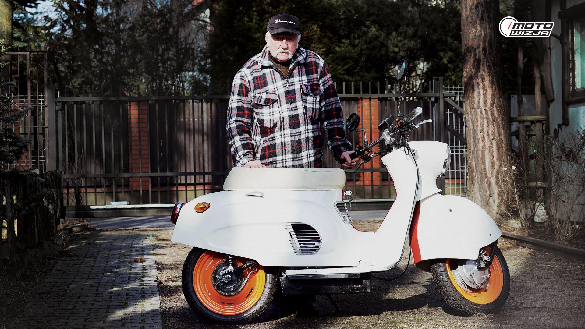 Motoikony w Motowizji: Włodzimierz Gąsiorek