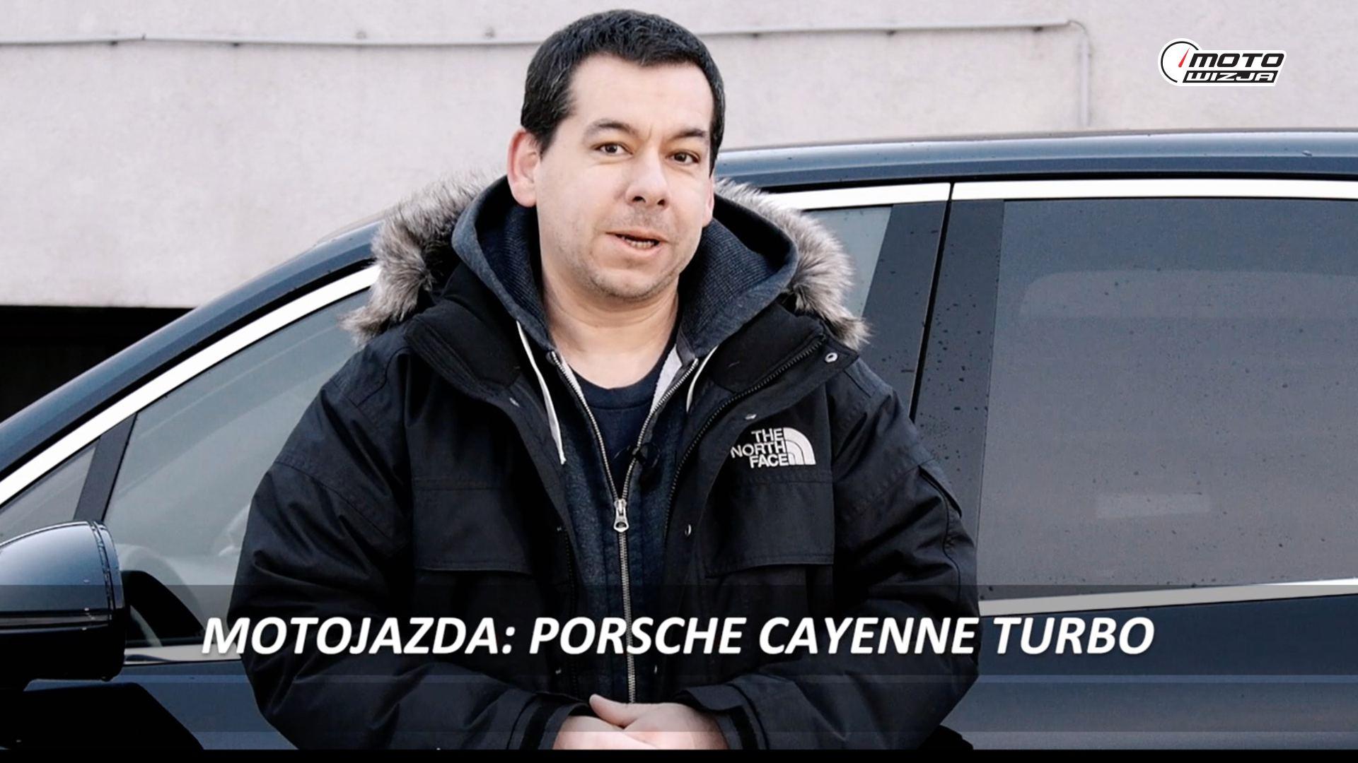 Motojazda w Motowizji: Porsche Cayenne Turbo