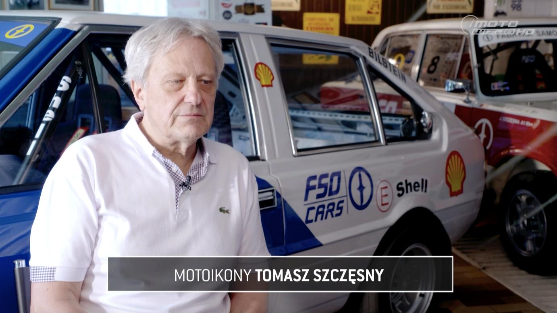 Motoikony: Tomasz Szczęsny w Motowizji