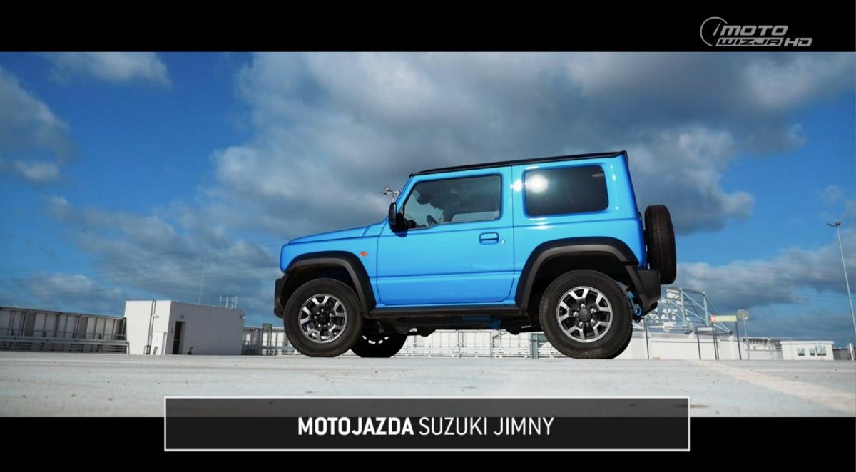 Motojazda w Motowizji: Suzuki Jimny