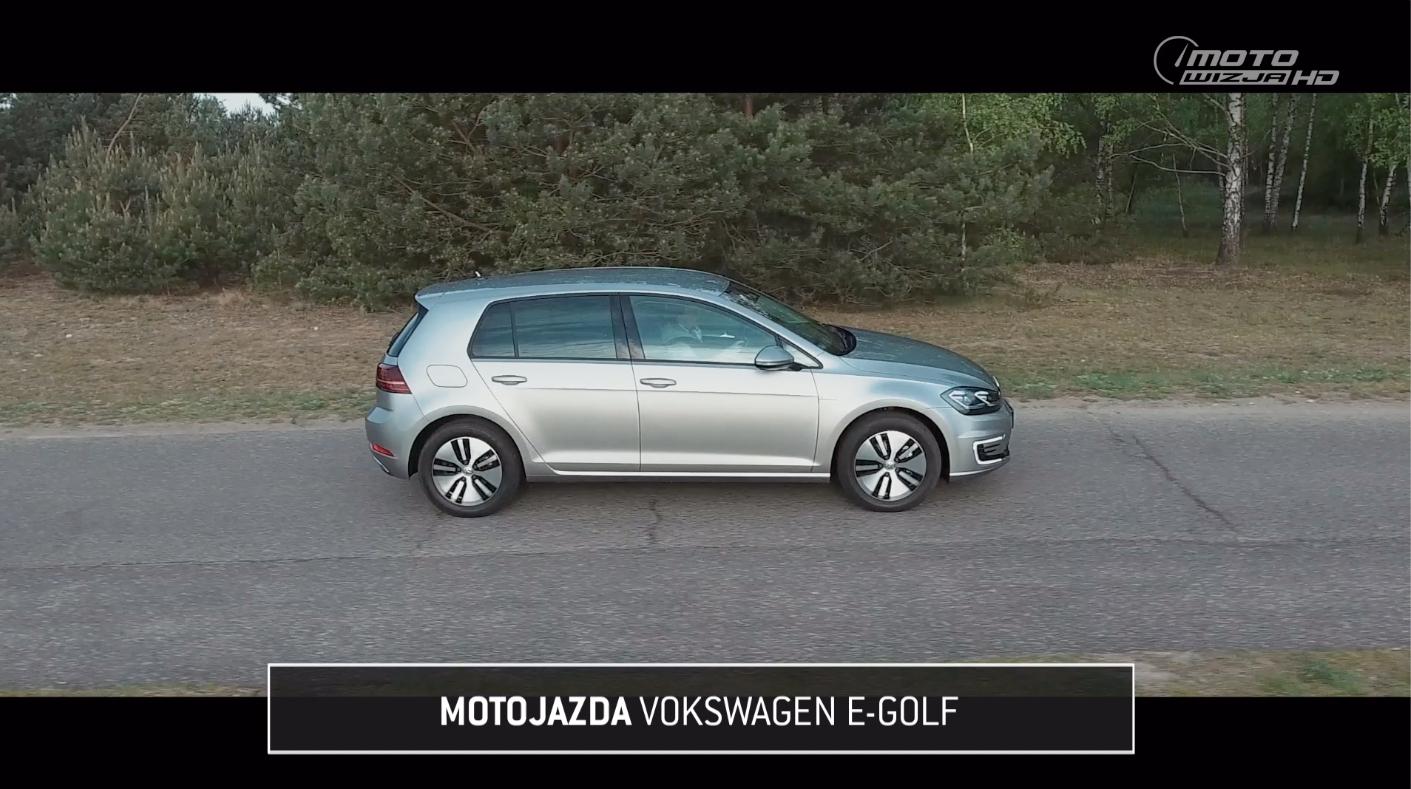 Motojazda w Motowizji: Volkswagen eGolf.