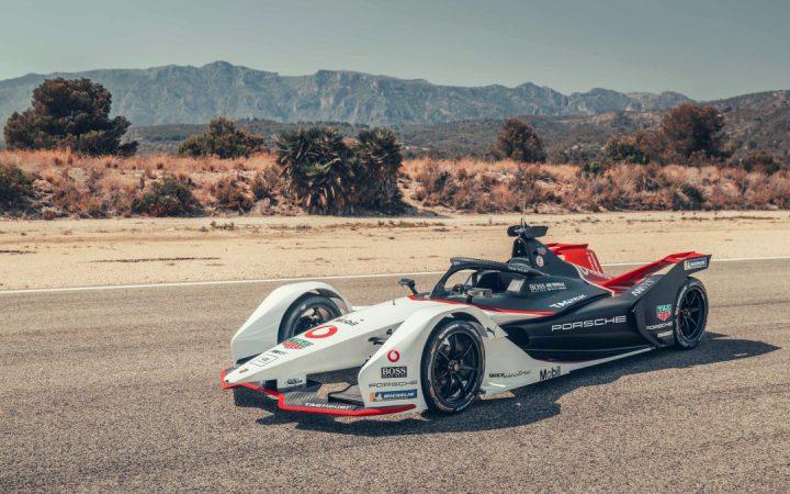 Porsche zaprezentowało swój pierwszy elektryczny samochód wyścigowy