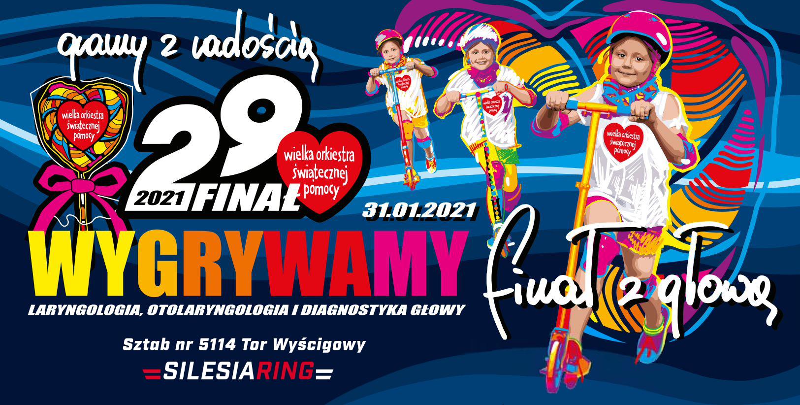 Motowizja gra w Wielkiej Orkiestrze Świątecznej Pomocy wraz z Silesia Ring!